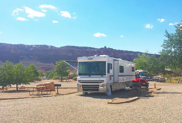 Living in an RV is a lot of fun. We sold our house last year and haven't regretted it one bit. Are you thinking about living in an RV?