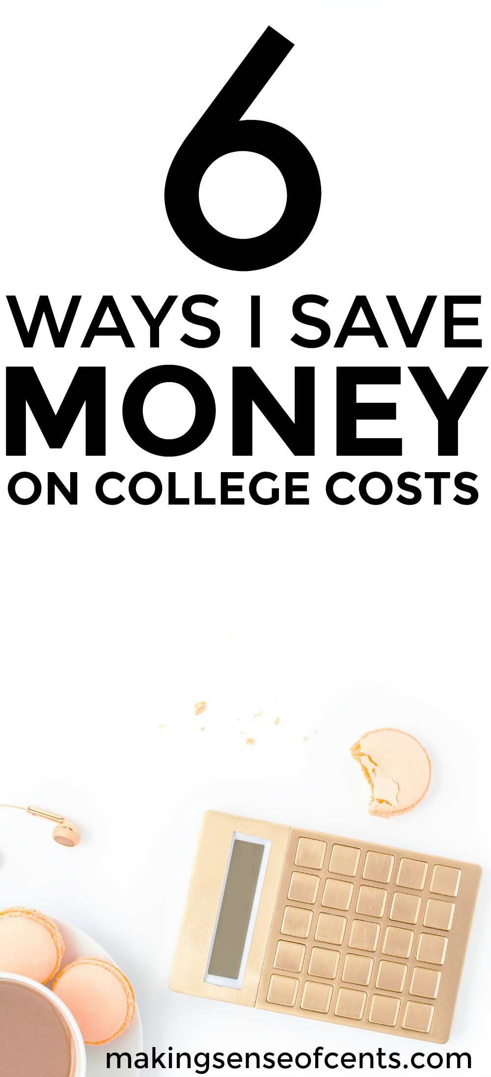 Check out this list of ways to save money on college costs. This is a great list!